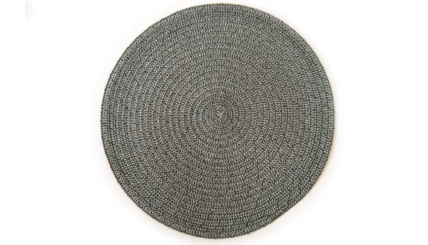Placemat charcoal weave