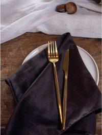 Black Velvet napkins