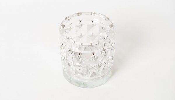 Crystal Tealight Chandelabra