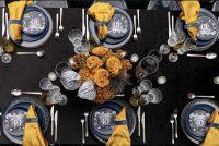 Mustard Velvet napkins