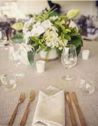 Oatmeal Weave with Natural Linen Spoke Napkin hire
