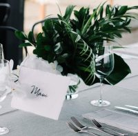 Seafoam Weave table linen hire
