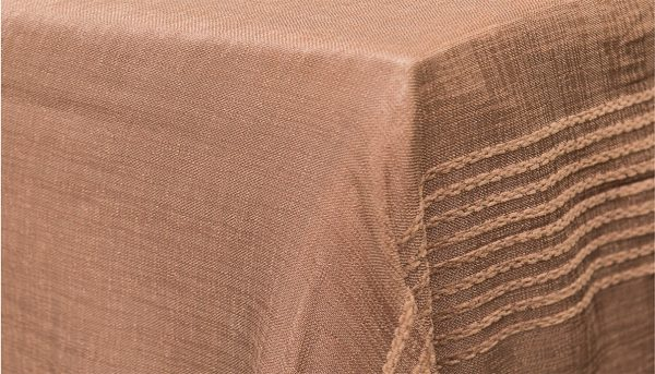 Taupe Sheer Stripe