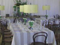 Vanilla table linen hire