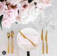 Whisper Weave overlays napkins