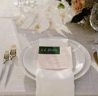 Whisper Weave.overlay with White Linen Spoke napkins