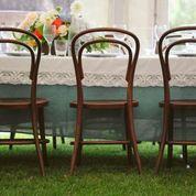White Lace table linen hire