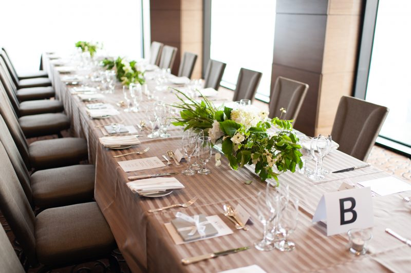 corporate event linen hire