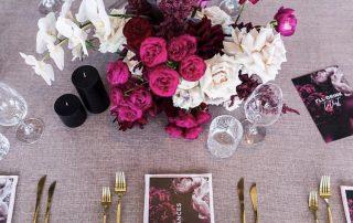 blush table Linen Hire