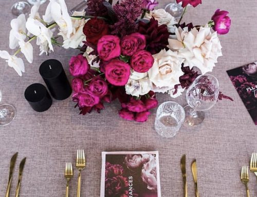 How does linen hire work with your event or wedding planner?