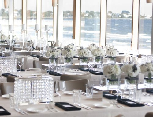 Life's a beach! Beach wedding table settings and linen hire