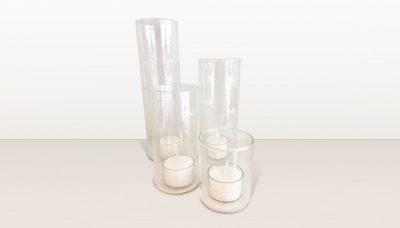 Votive cylinder flat