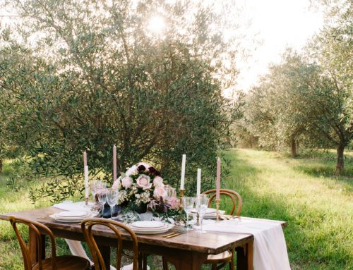 Our linen hire team shares table styling tips for a luxe rustic wedding