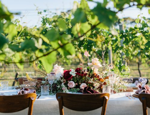 Outdoor styling tips and tricks from our linen hire experts