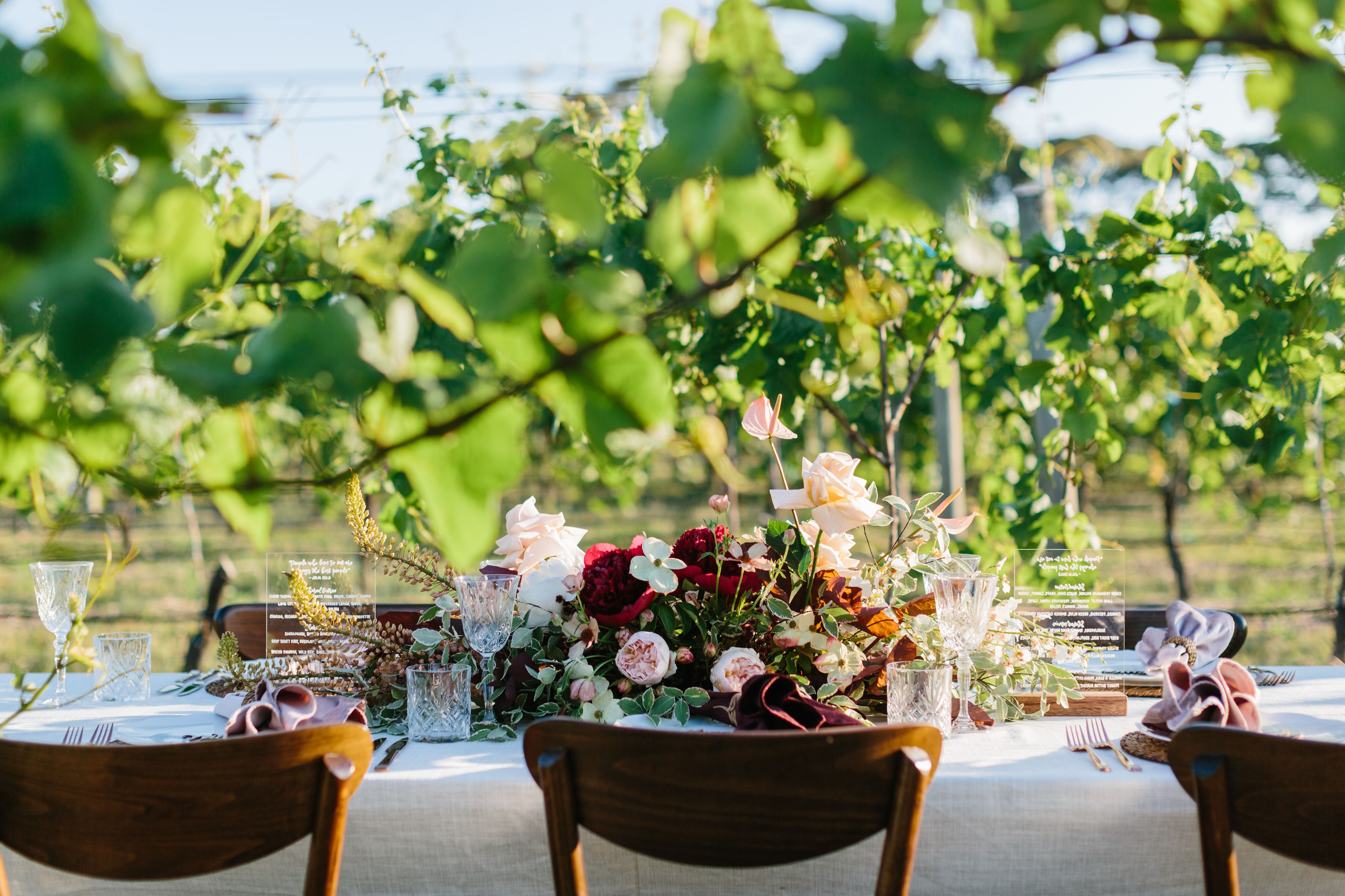 Outdoor styling play with colour