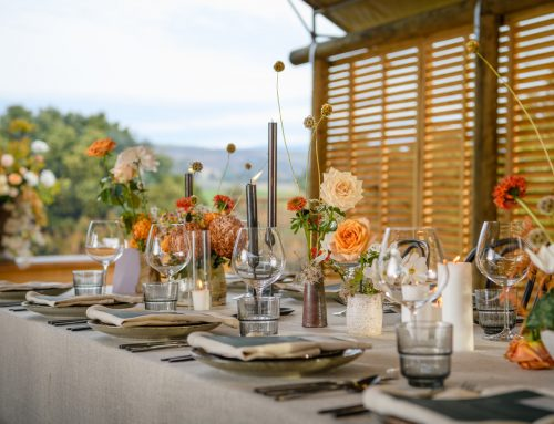 Summer event styling from our table linen hire team