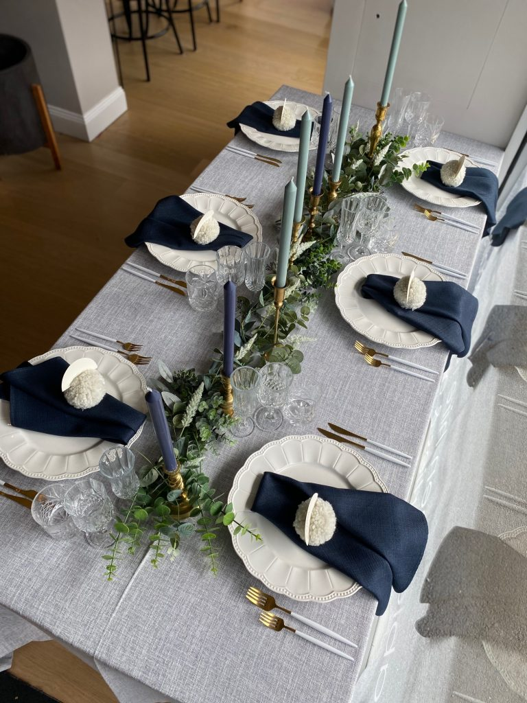 christmas table styling australia