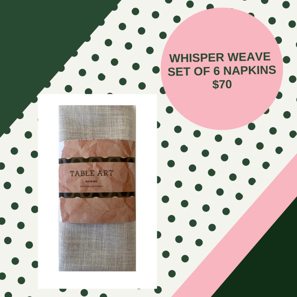 buy linen napkin set