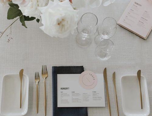 Simple table setting rules for casual and formal events