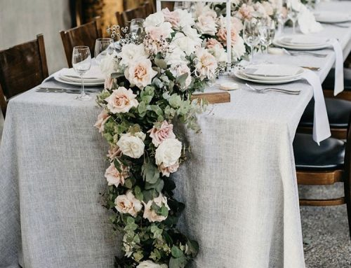 How do you choose wedding linens? 6 tips to pick your colours