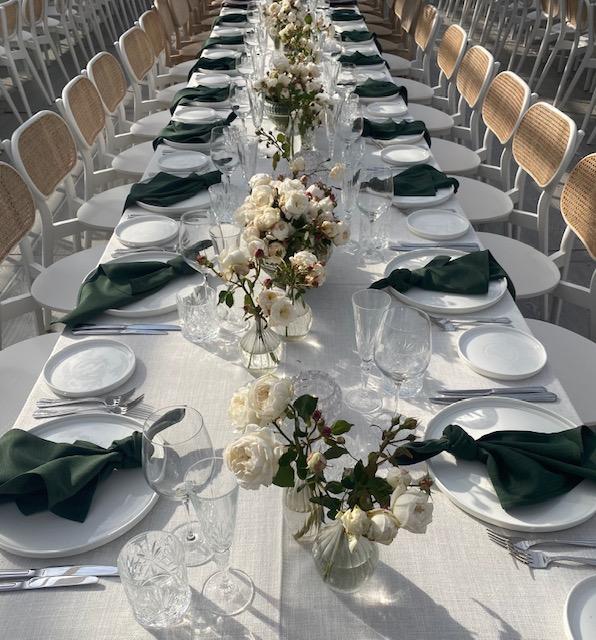 Wedding linen hire