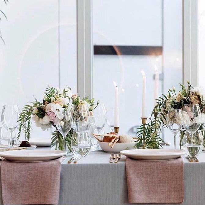 Hire table linen